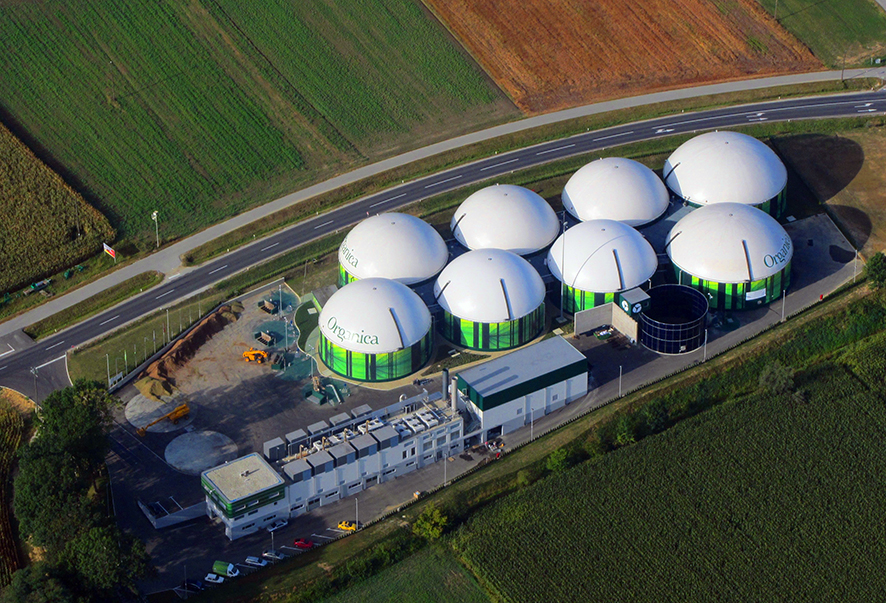 Double Membrane Biogas Roofs