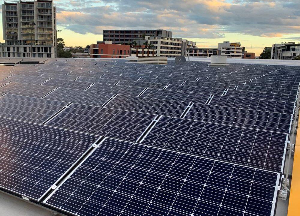 Sydney CBD Roof Top Solar