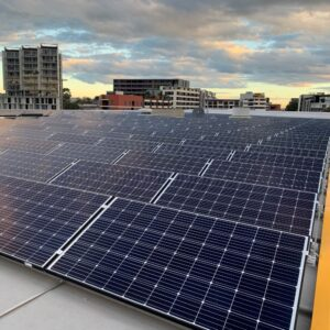 Sydney CBD Roof Top Solar